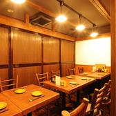 12名様まで入れるテーブル個室席♪可動式のテーブルなのでいろんな人数のお集まりに対応できます