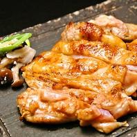 塩麹で漬けた鶏もも肉!