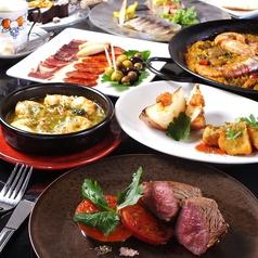 スペイン料理 アリオリ ALI-OLIのコース写真