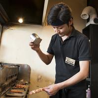 新鮮なお肉を絶妙な焼き加減でご提供します。