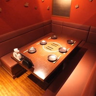 半個室から宴会席まで様々なお席をご用意★