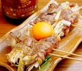 料理メニュー写真【自慢の逸品】牛すき焼き卵のせ