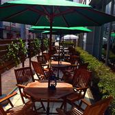夏季限定のテラス席は最大40席ご用意♪開放的な空間で世界各国のビールや豊富なワインなど様々楽しめます!