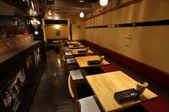 2名様テーブル席です。テーブルの移動が可能なので大人数でのお客様も安心してご来店ください。