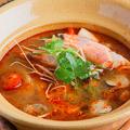 料理メニュー写真天使の海老のトムヤンクン