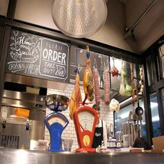 オープンキッチンがモダン空間を演出!