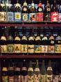 沖縄の酒と言えば泡盛!常時50種以上を取り揃えております♪