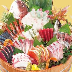 料理メニュー写真大漁盛り(12種盛り)