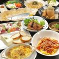 【飲み放題付き☆4500円コース】チーズ豆腐や大エビチリマヨなど全11品の豪華コース!