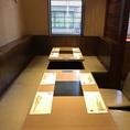 気軽に入れるテーブル席をご用意。落ち着いた空間でお食事していただけます。