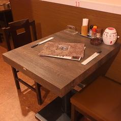2名様テーブルの用意もございます!
