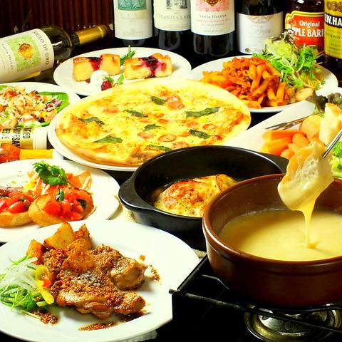 松戸の裏路地隠れ家イタリアン♪各種宴会シーンはもちろん、少人数でのご利用も大歓迎