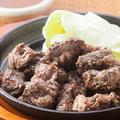 料理メニュー写真鹿児島県産 黒豚ハラミ焼き