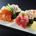 料理メニュー写真豪快こぼれ寿司