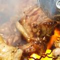 料理メニュー写真鶏はらみの炭火焼き
