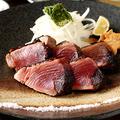 料理メニュー写真【四日市居酒屋でご堪能】名物!かつお藁塩いぶし