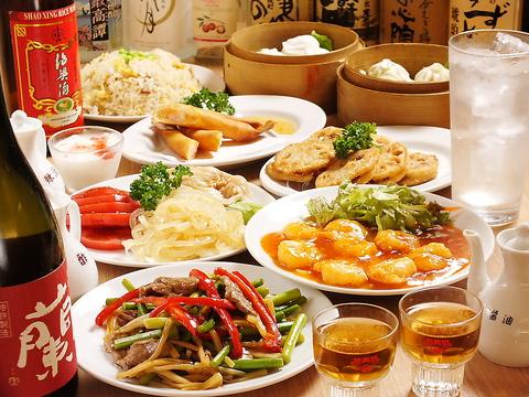 絶品な白ゴマ坦々麺をはじめ、本格中華がリーズナブルに楽しめる優優!お仕事帰りに♪
