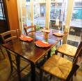 ハイテーブル4名様席用♪女子会・少人数宴会など様々なシーンでご利用頂けます!