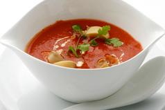 料理メニュー写真トマトマッシュルームスープ