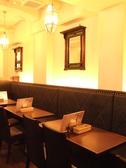 モダン様式の香りが漂うカフェのような店内でゆったりとスープカレーを味わっていただけます。