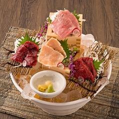 お肉たちの宴~四種肉の盛り合わせ~