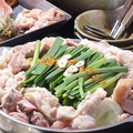 料理メニュー写真【特製もつ鍋】信州牛をたっぷり使用したもつ鍋