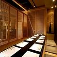 広々とした落ち着いた空間。10名様までご利用可能ですので会社宴会や接待のご利用にもおすすめです。