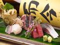 料理メニュー写真本日の刺身〔単品〕※盛り合わせもできます