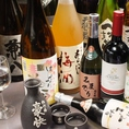 ◆厳選日本酒・焼酎は串・野菜・鮮魚に相性◎◆