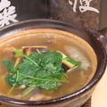 料理メニュー写真丸小鍋(すっぽん鍋)