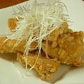 料理メニュー写真鶏肉の唐揚げ甘酢あん