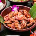 料理メニュー写真ハワイ風もち粉チキン