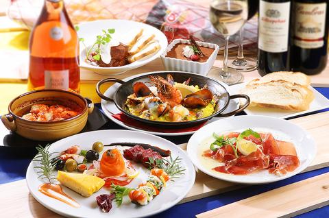 Spanish Cuisine & wine CAVAL hakata City mise image