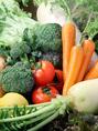 自家菜園の無農薬でつくる野菜と地元農家から仕入れる野菜のみを使用しております!フレッシュな野菜を楽しめますよ♪