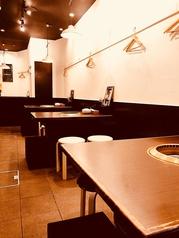 【1F】2~4名までOKのテーブル席