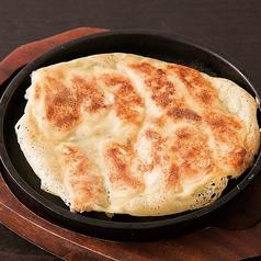 黒豚と国産野菜の一口餃子/海鮮チヂミ