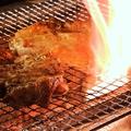 料理メニュー写真赤鶏さつま もも一枚焼き