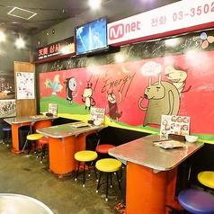 本場韓国の屋台の雰囲気を新横浜に完全再現しました!観光気分でワイワイと盛り上がろう♪デートなどの少人数でのお食事にも大人数でのご宴会にもおすすめのお席です◎本格的な韓国料理の数々をぜひご堪能ください。
