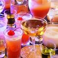 飲み放題だけのご注文もOK!3000円~ 女子会や誕生日サプライズ、貸切パーティーなどに♪飲み放題も充実!