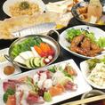 【飲み放題付き☆3500円コース】チーズ豆腐や炙り〆サバなど全9品の自慢のコース!