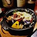【冬限定★】冬野菜とキノコのスモールポット 1200円ウイスキー・ワインに良く合います◎
