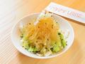 料理メニュー写真中華くらげの冷菜/酢もつのネギまみれ