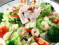 無農薬野菜を使用したお料理はどれも栄養抜群◎