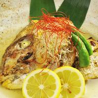 旬の魚を使用した週替わりメニュー