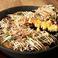 料理メニュー写真北海道スイートコーンとキャベツのお好み焼き