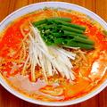 料理メニュー写真マーラー担担麺