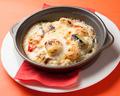 料理メニュー写真エビとホタテと野菜のドリア