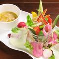 料理メニュー写真野菜が進むバーニャカウダ