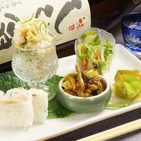 旬の食材をふんだんに使ったこだわりの京料理の数々