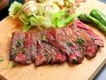 料理メニュー写真赤牛ハラミステーキ